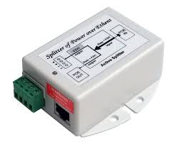 GigE Splitter,<b>802.3at PoE</b> to 24V 30W Out