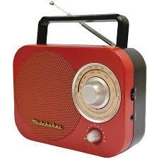 Studebaker Sb2000rb Portable Am/fm Radio (Red) & UPG C <b>24</b> ...