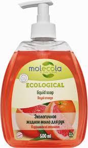 """<b>Molecola</b> Жидкое <b>мыло для рук</b> """"Апельсин"""" 500 мл — купить в ..."""
