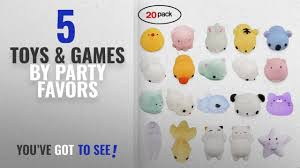 [2018]: 20Pcs Squishy Toy, <b>LEEHUR</b> Party Favor Mini <b>Cute</b> Squeeze
