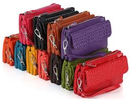 <b>New Women</b> Clutch <b>Genuine Leather</b> Wrist lets bags - jadwa store