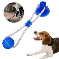 multifunction <b>pet molar</b> bite <b>dog toys</b> rubber chew ball at Banggood