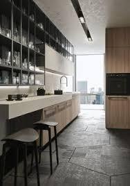 linear fitted kitchen with handles opera snaiderocucine antis kitchen furniture