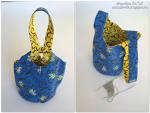 Японская сумочка омияге выкройка
