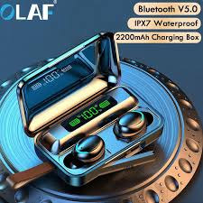 <b>Olaf</b> Bluetooth V5.0 <b>Earphones Wireless Headphones</b> With ...