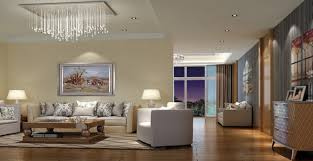 Different use of light in living room