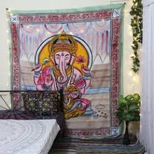 Colorful Ganesha <b>Tapestry Hippie</b> Elephant <b>Tapestry Spiritual</b> ...
