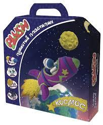 Масса для <b>лепки PLUSH</b> Космос (PL02201809) — купить по ...