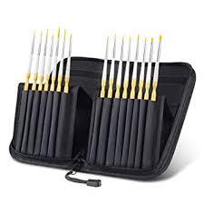 Tdbest Paint <b>Brush</b> Set,<b>15 Pcs Acrylic</b> Paint <b>Brushes</b> Handmade ...