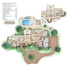 Tuscan House Plans   Home Design WDGF       Floor Plan First Story