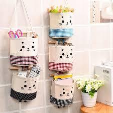 Home Kitchen <b>Door Wall Hanging Organizer</b> Pocket Bag Sundries ...