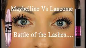<b>Lancome Monsieur Big mascara</b> Vs Maybelline Lash Sensational ...