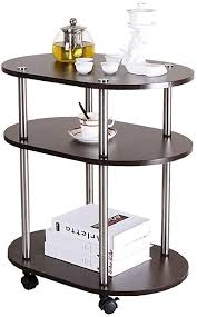 HANSHAN Side Table 3-Tiers Coffee Table ... - Amazon.com