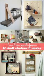 Diy Kitchen Wall Shelves Remodelaholic 30 Functional Wall Decor Ideas