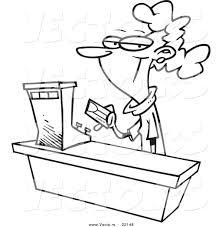 s clerk clipart clipartfest cartoon female s clerk