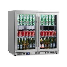 Cool Drink Fridge Magic Chef 31 Cu Ft 87 12 Oz Can Cooler In Stainless Steel