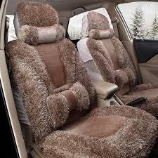 SOFO Universal Winter Plush <b>Car Seat</b> Cover for <b>5 Seats</b> Car Front ...