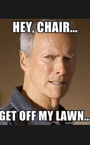 Eastwooding: Five Best Examples of the Empty-Chair Meme Based on ... via Relatably.com