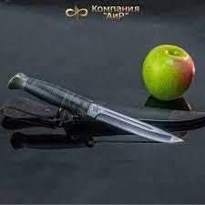 """<b>Нож Разделочный</b> Аир """"Финка-3"""", Сталь 110Х18 М-Шд, Рукоять ..."""