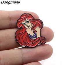DMLSKY <b>Funny</b> Pin Octopus Cute Ursula Enamel Pins and ...