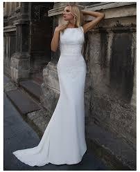 LORIE 2019 <b>Mermaid</b> Wedding Dresses Soft Satin <b>Appliques</b> Lace ...