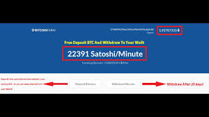 how to make deposit btc and draw to your walit bitcoin how to make deposit btc and draw to your walit bitcoin farm