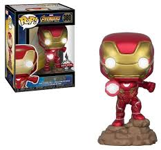 Купить <b>Фигурка Funko POP</b>! <b>Avengers Infinity</b> War: Iron Man (with ...