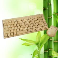 luxury wood life handmade bluetooth wireless bamboo keyboard mouse sets pc desktop computer business gift buy pc small business