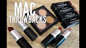 New <b>MAC Throwbacks</b> Swatches & Tutorial - YouTube