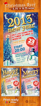christmas party flyers premium files psddude christmas and new year snowman party flyer