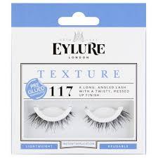 Купить <b>Eylure Накладные ресницы</b> Texture №117 черный в ...