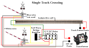rr train track wiring railroad crossing gates with signal Model Train Wiring Diagrams Model Train Wiring Diagrams #18 model train dcc wiring diagrams