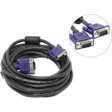 Кабель <b>VGA</b> < -> <b>VGA Aopen</b> ACG341AD 5 метров — купить, цена ...