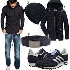 Lässiger Street-Look mit Sneakern, Hoodie und <b>Jeans</b> | Мужской ...