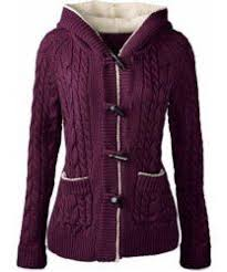 <b>Chic Long Sleeve Solid</b> Color Hooded Cardigan For Women ...