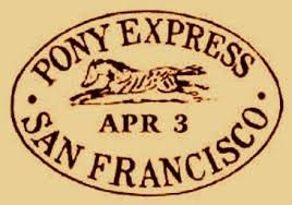 「the Pony Express ultimately turns out to be unprofitable and short-lived.」の画像検索結果