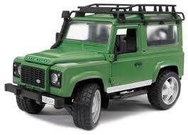 Внедорожник <b>Bruder Land Rover</b> Defender (02-590) 1:16 28 см ...