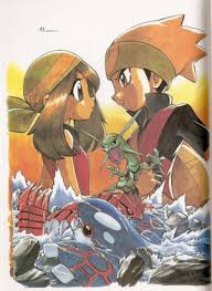 Image result for pokemon ruby manga