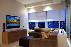 marvelous lutron electronics vogue vancouver contemporary family room decoration ideas with accent lighting beige ceiling beige wall blinds brown sectional accent lighting family room