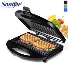 <b>Electric Waffles</b> Maker Iron Sandwich Machine Non-Stick Pan ...
