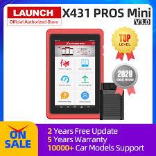 <b>Launch X431</b> Pros Mini Auto Diagnostic Tool <b>Full System</b> X 431 Car ...