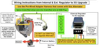 wiring diagram for a ford 1 wire alternator images ford 3g alternator wiring diagram powermaster alternator wiring