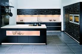 black and stainless kitchen  black clean kitchen bfcafabacdee