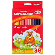 <b>Цветные карандаши Гамма</b> «<b>Мультики</b>», 36 штук. «Читай-город»