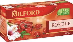 <b>Milford</b> Шиповник <b>фруктовый чай</b> в пакетиках, 20 шт — купить в ...