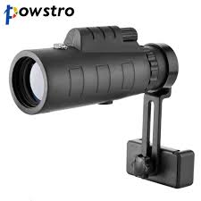 Powstro <b>40x60 HD Zoom</b> Optical Monocular Telescope <b>Phone</b> Lens ...