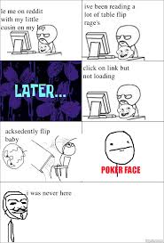 RageGenerator - Rage Comic - table flip no baby flip via Relatably.com
