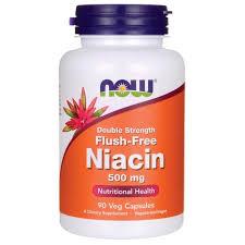 NOW Foods <b>Double Strength Flush</b>-<b>Free Niacin</b>   90 Veg Caps   B ...