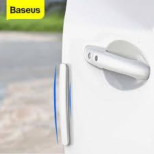 <b>Baseus</b> 4Pcs <b>Car Door</b> Protector Guard <b>Airbag</b> Buffer Strip Scratch ...