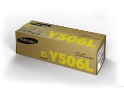 <b>Картридж Samsung CLT-Y506L</b> желтый 3500 стр. (SU517A)